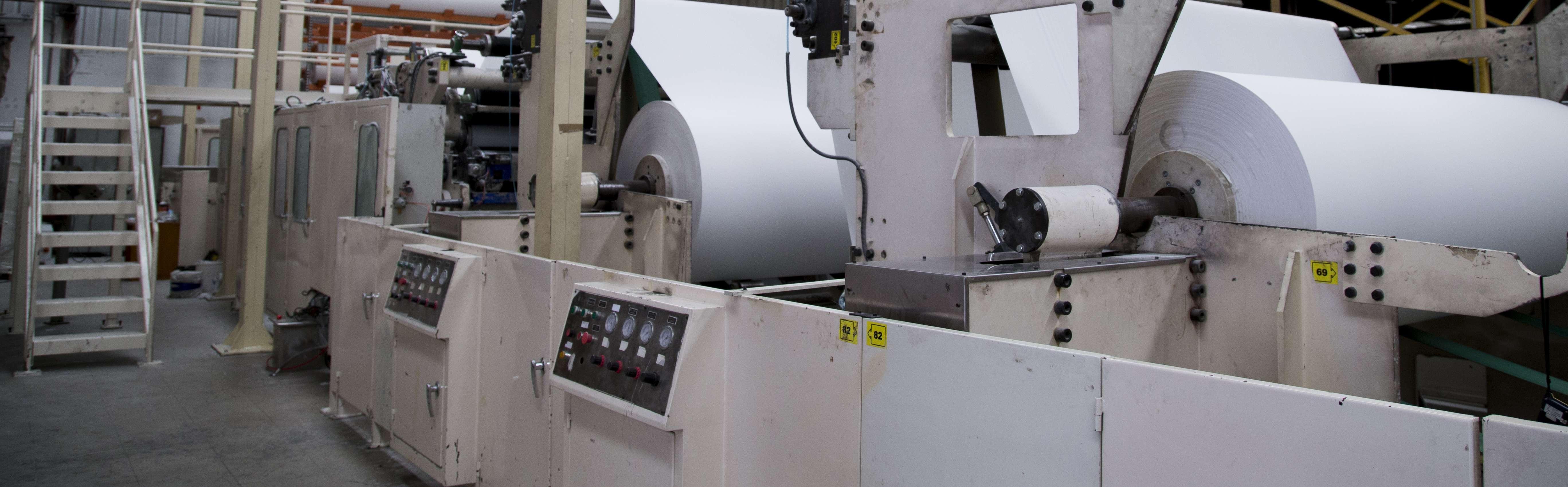 Fabrica de toallas de papel maquinaria