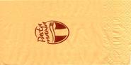 Servilleta personalizada