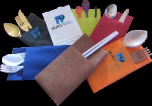 Servilletas Canguro y servilletas personalizadas de Muropapel