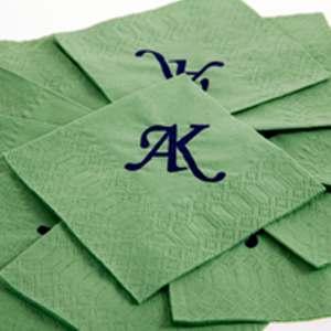 Servilletas de papel personalizadas de dos y tres capas.