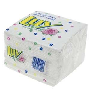 servilletas de papel de una capa