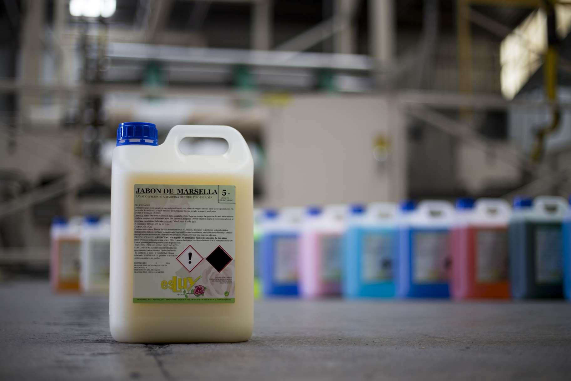 Detergente industrial de Marsella