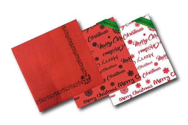 servilleta Navidad 40x40