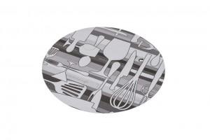 Tapa envases aluminio ovalado -