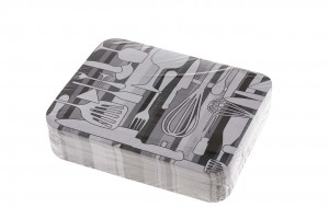 Tapa envases aluminio paquete