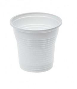 vaso de plastico blanco 100ml