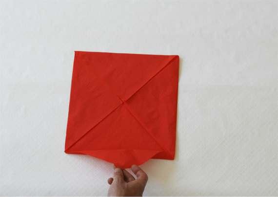 Servilleta de papel completa Manualidades con servilletas