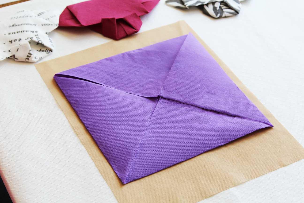 Como doblar una servilleta de tela paso a paso como - Como doblar servilletas de tela ...