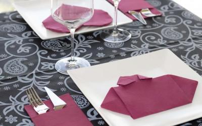Como doblar servilletas de papel de forma original