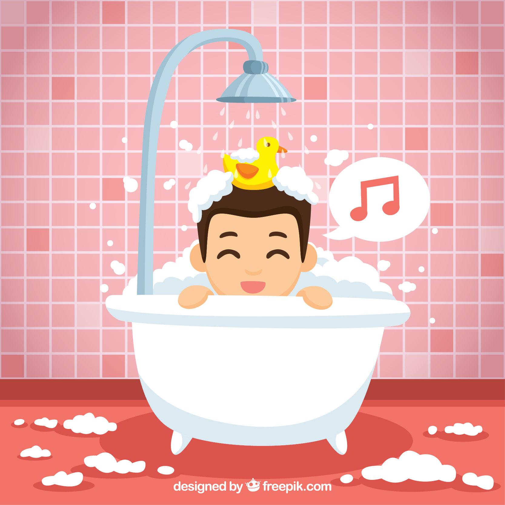 Limpieza de bañera