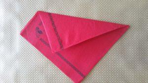 Doblar servilletas de papel
