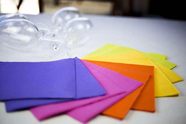 servilletas de papel montaje