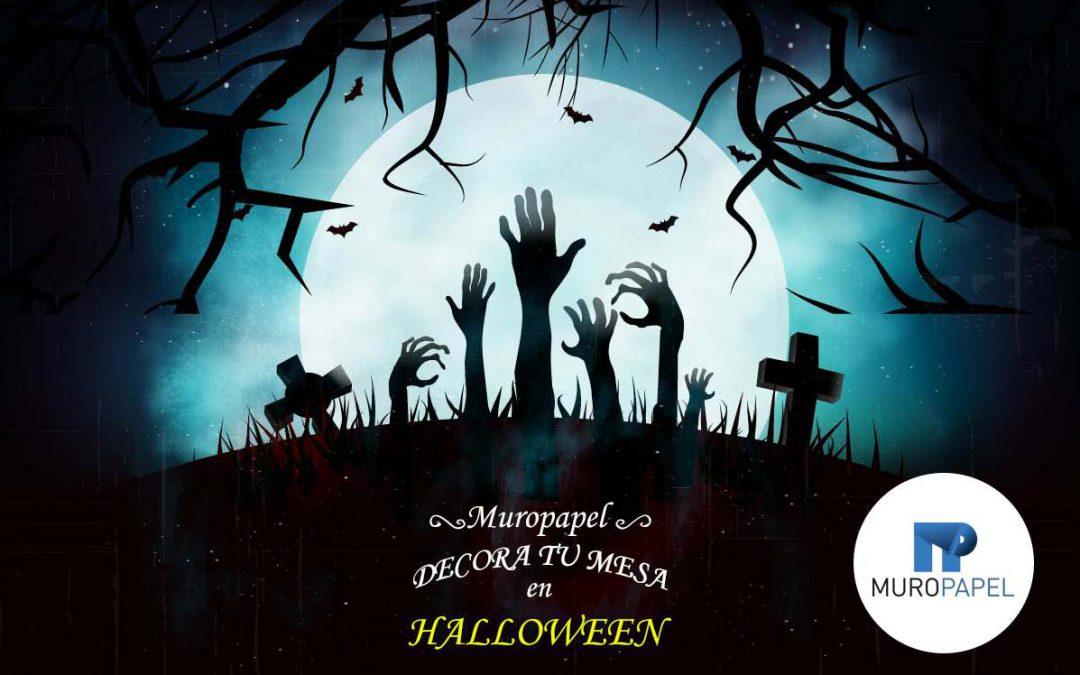 Manteles y servilletas para Halloween –  Decora tu mesa