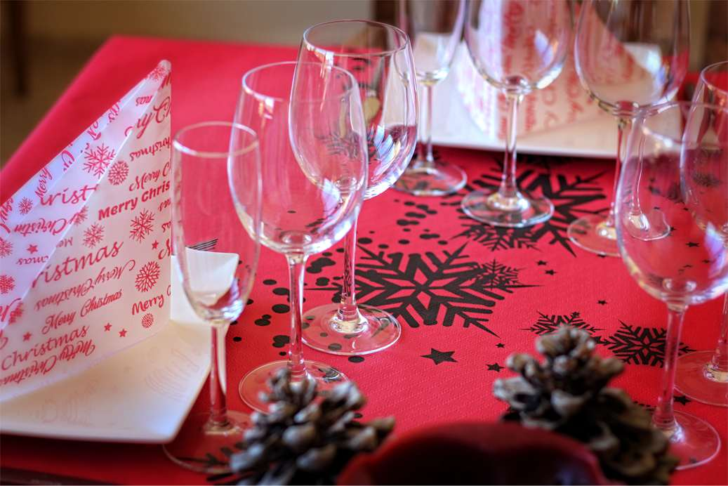 Como decorar una mesa en navidad mesa de navidad with - Mesa de navidad ...