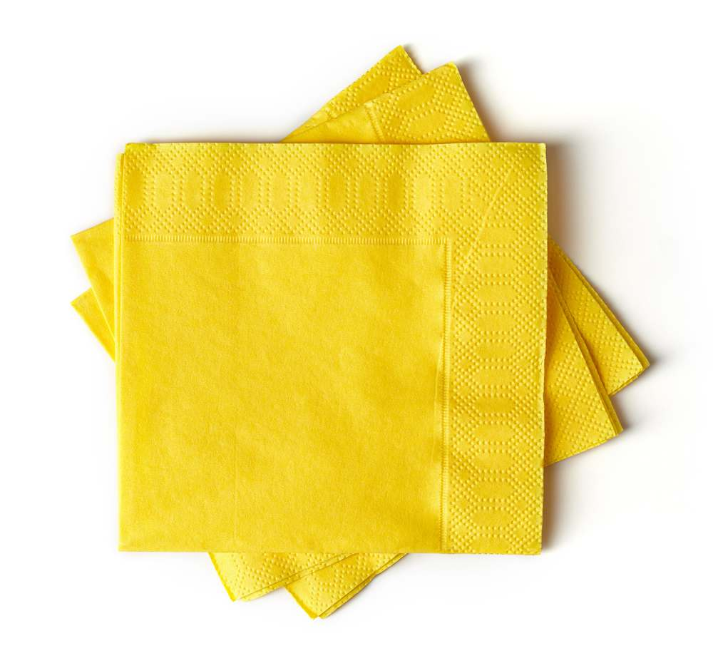 Servilletas de papel especiales