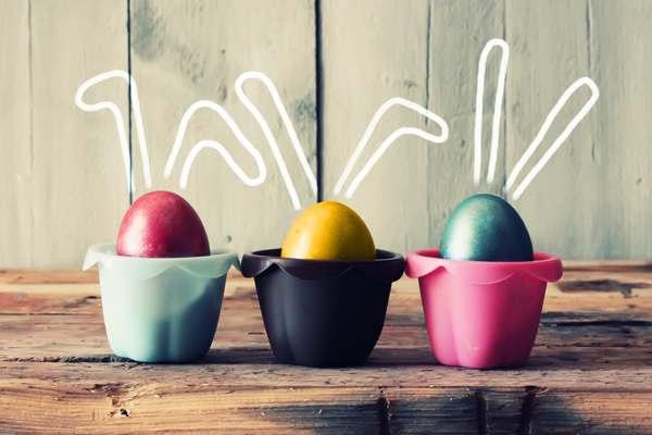 huevos de pascua para mesas de semana santa