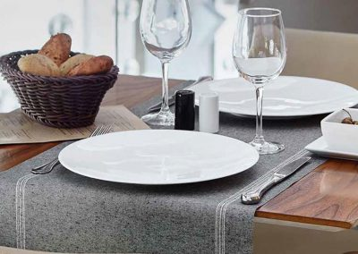 Restaurante con mantel DAY DRAP